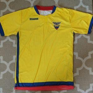 Tops - Ecuador soccer Jersey
